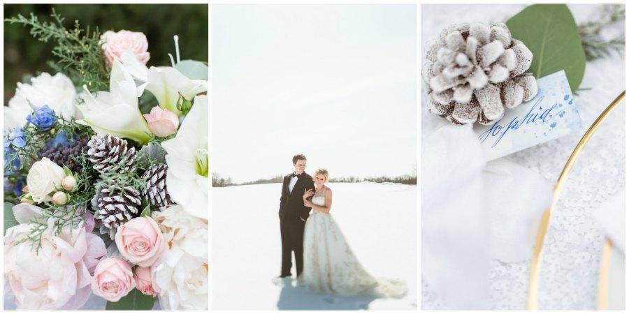 оформление зимней свадьбы 4