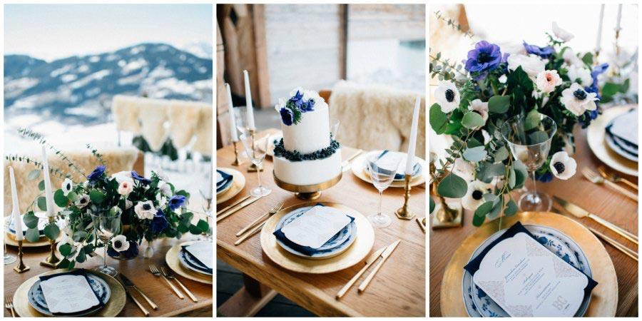 оформление зимней свадьбы 5