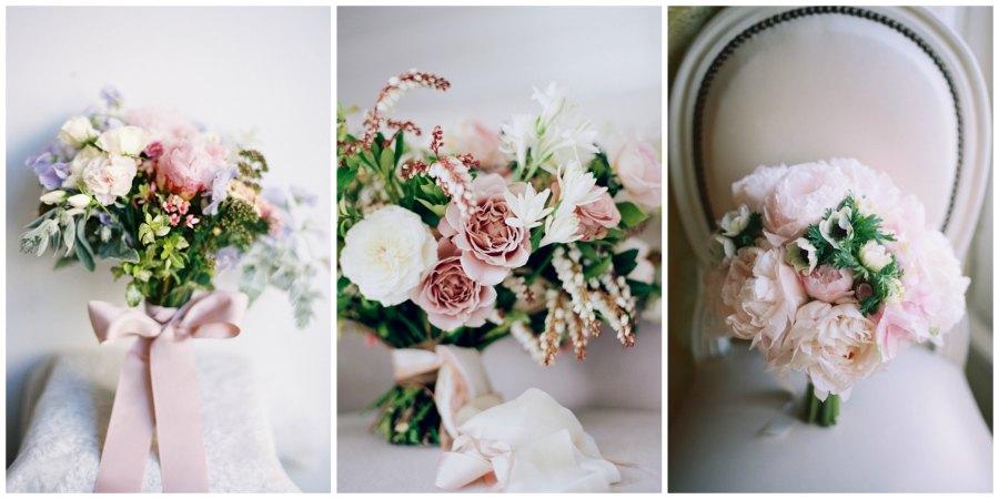розовый букет невесты 5