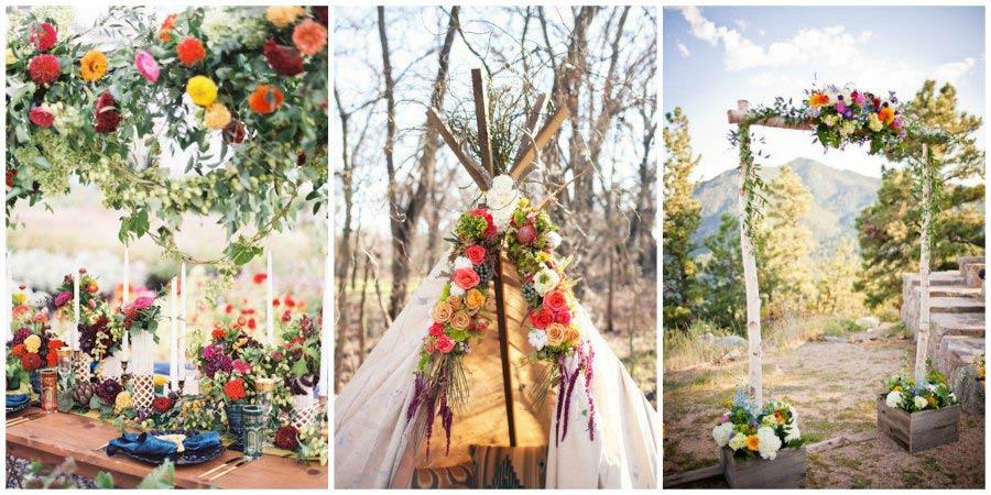 свадьба в стиле бохо 17