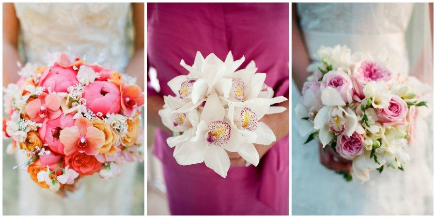 свадебный букет из орхидей 3