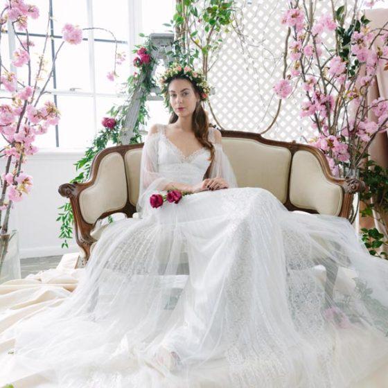 Модные свадебные платья 2017 — 7 главных трендов Недели Моды в Нью-Йорке