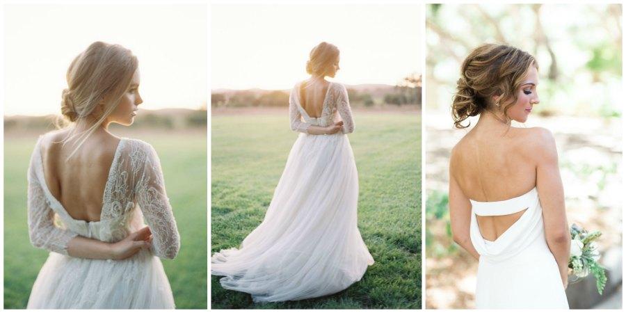 свадебные платья с открытой спиной 6