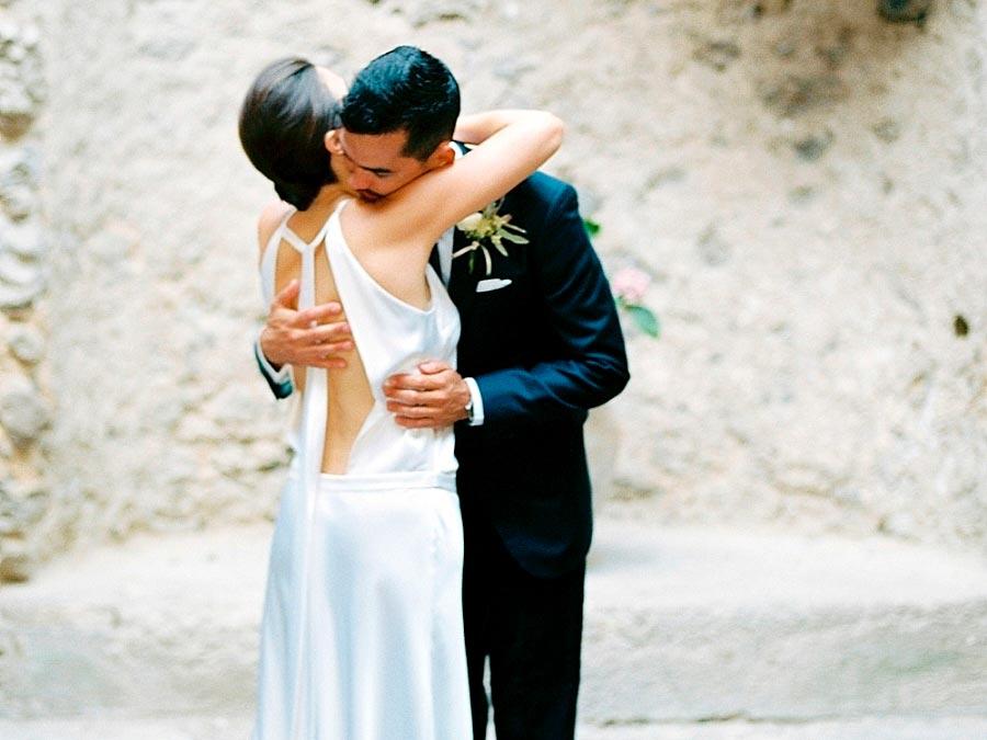 свадебные платья с открытой спиной 7
