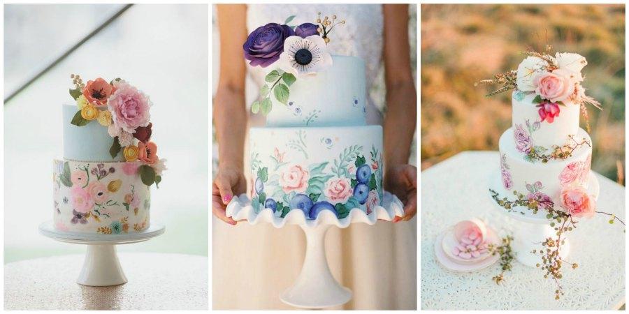 свадебные торты 2016 3