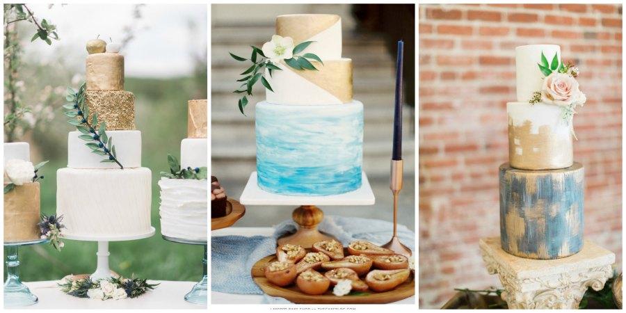 свадебные торты 2016 9