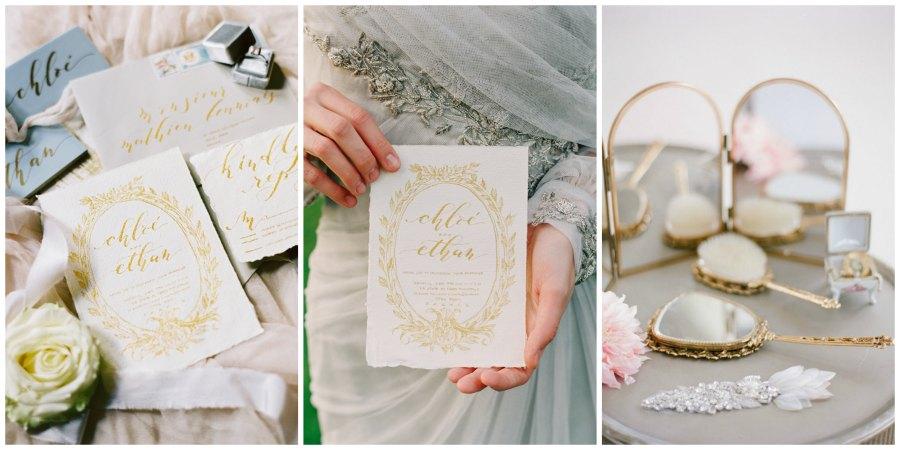 золотое оформление свадьбы 16