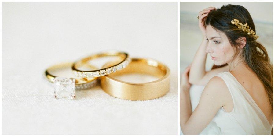 золотое оформление свадьбы 7