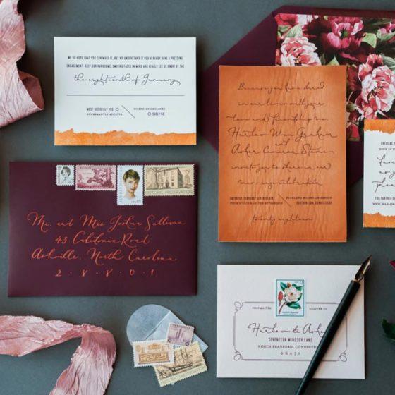 10 оригинальных приглашений на свадьбу
