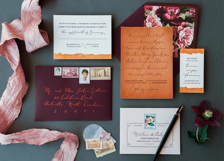 10 оригинальных приглашений на свадьбу 11