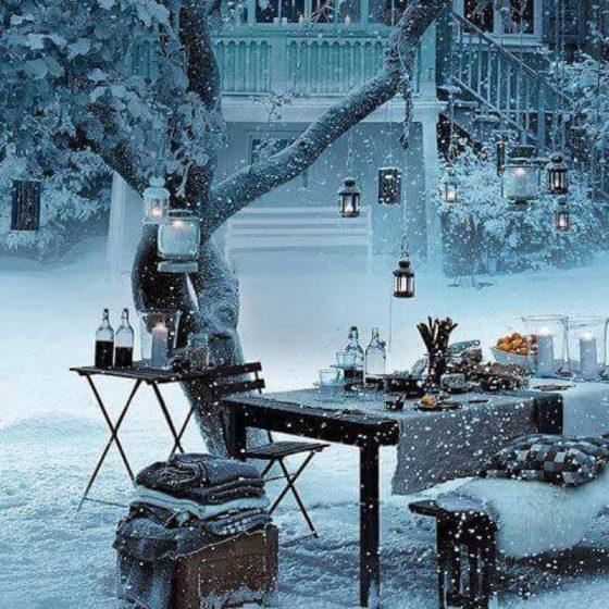 Идеи зимней фотосессии
