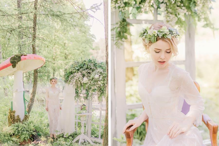 фотосессия лесная свадьба 3