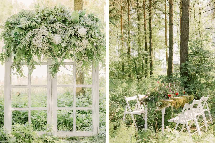 фотосессия лесная свадьба 4