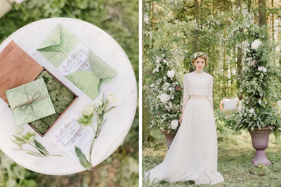 фотосессия лесная свадьба 6