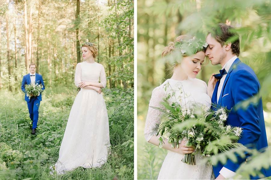 фотосессия лесная свадьба 8