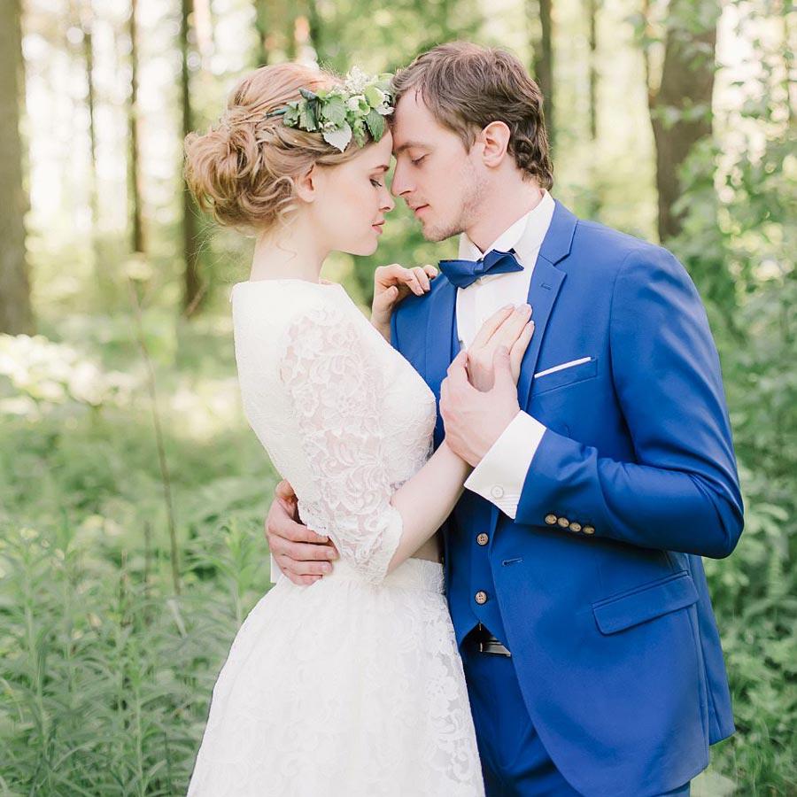 фотосессия лесная свадьба 9