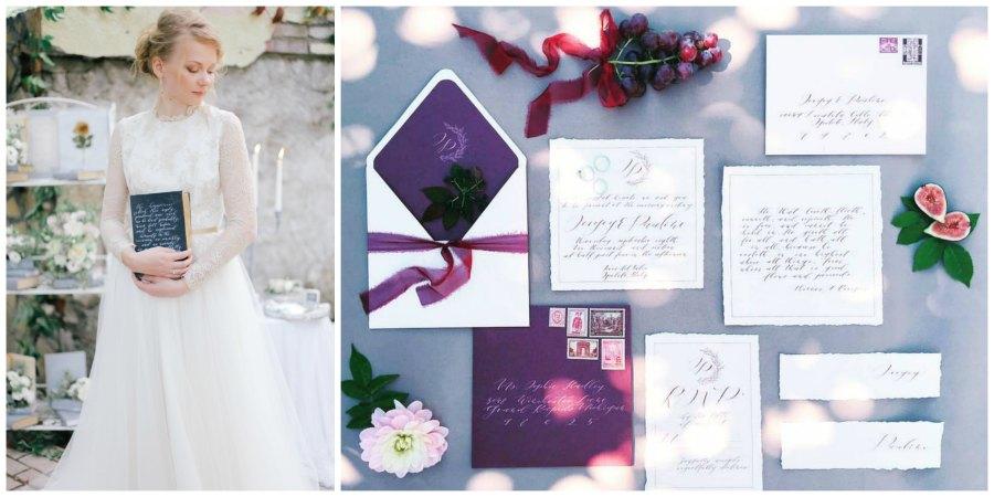мастера свадебной каллиграфии 10
