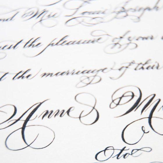Мастера свадебной каллиграфии