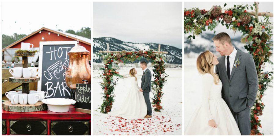 мифы о зимней свадьбе 1