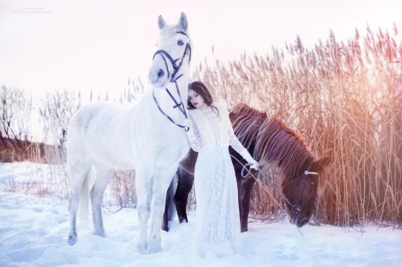 русская свадьба зимой 4