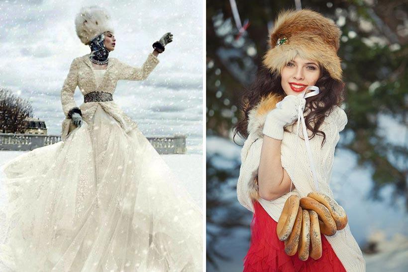 русская свадьба зимой 5