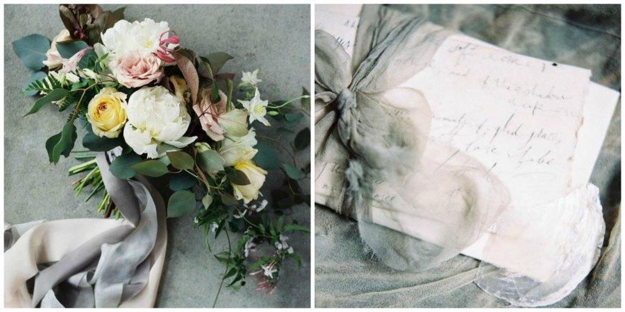 шелковые ленты на свадьбе 13