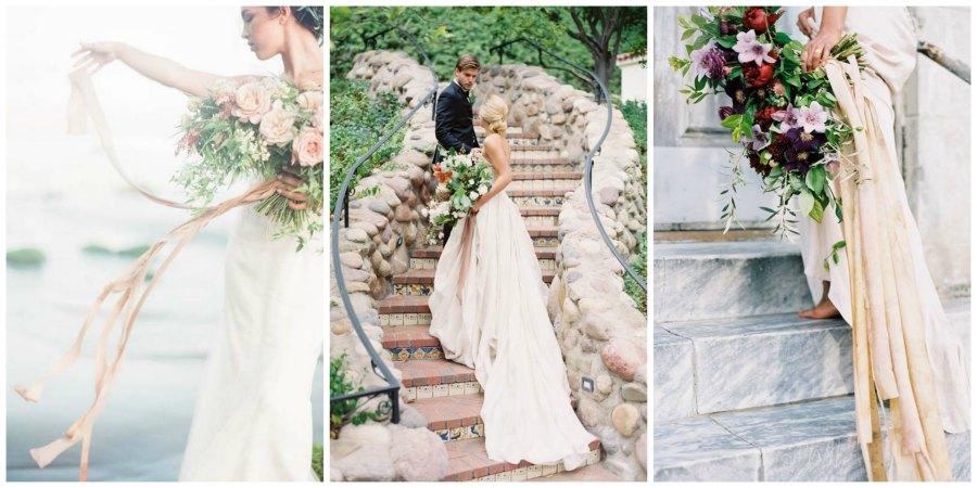 шелковые ленты на свадьбе 2