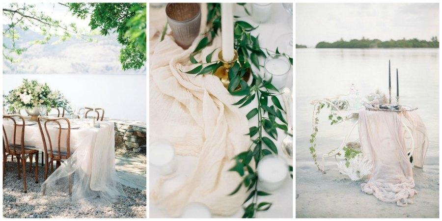 шелковые ленты на свадьбе 7