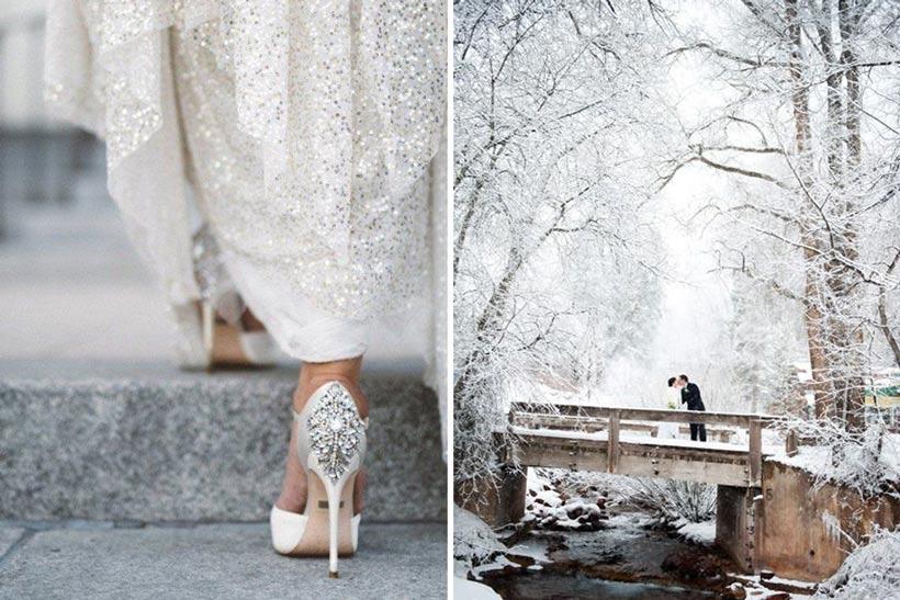 стили зимней свадьбы 1