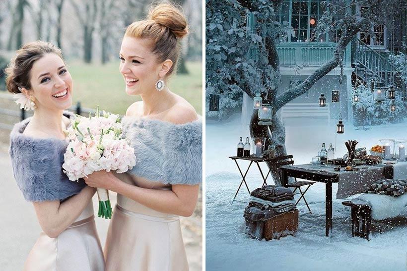 стили зимней свадьбы 2