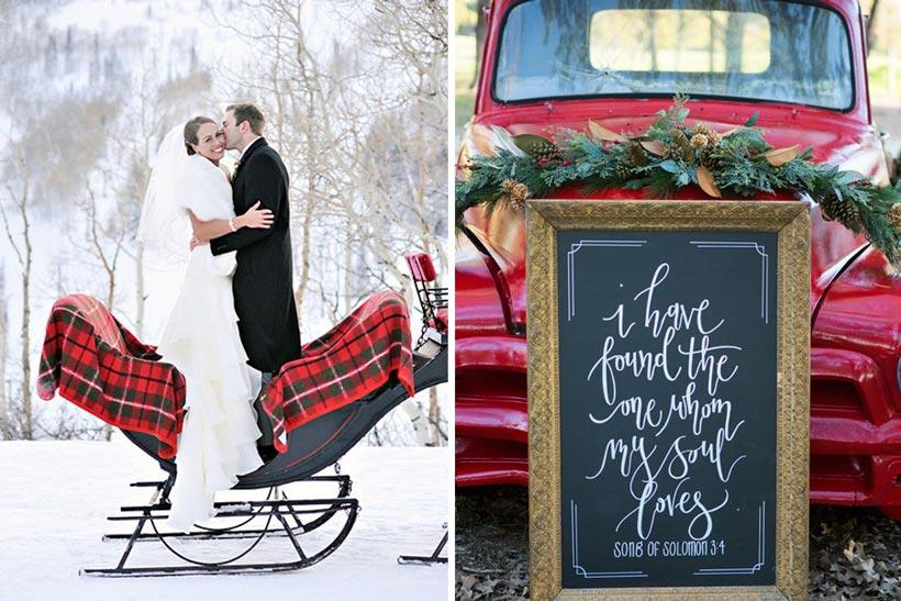 стили зимней свадьбы 4