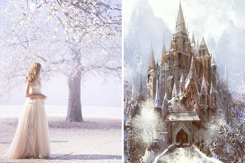 стили зимней свадьбы 5