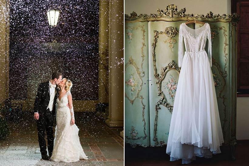 стили зимней свадьбы 8