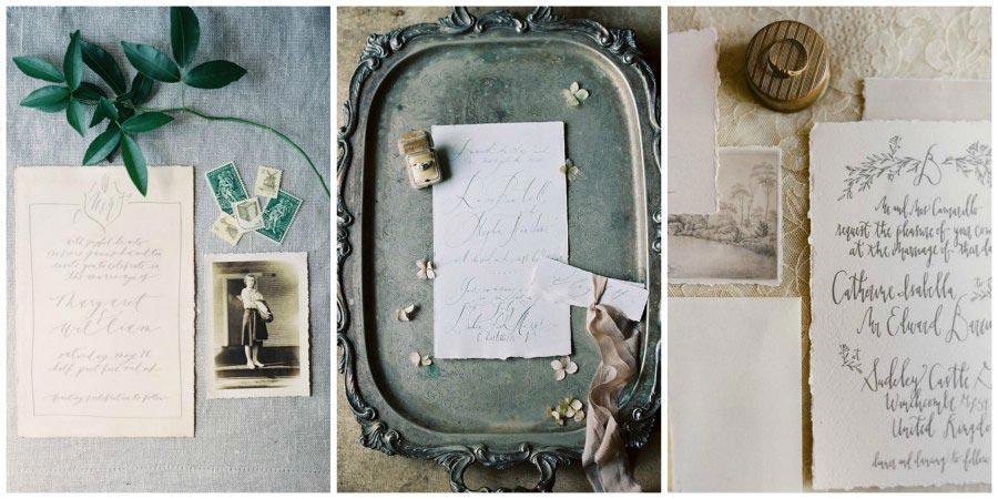 свадебная каллиграфия 1