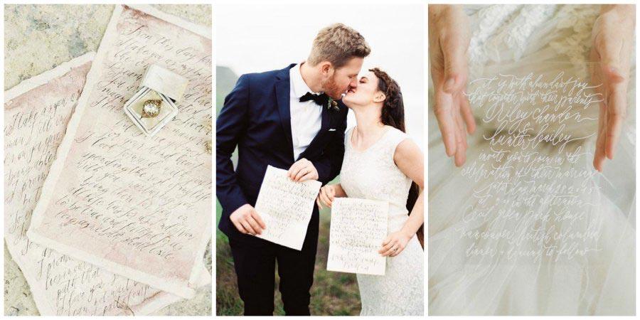 свадебная каллиграфия 11