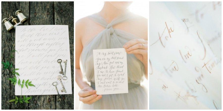 свадебная каллиграфия 12