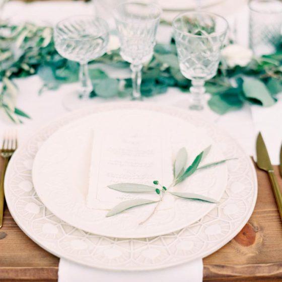 Зелень на свадьбе