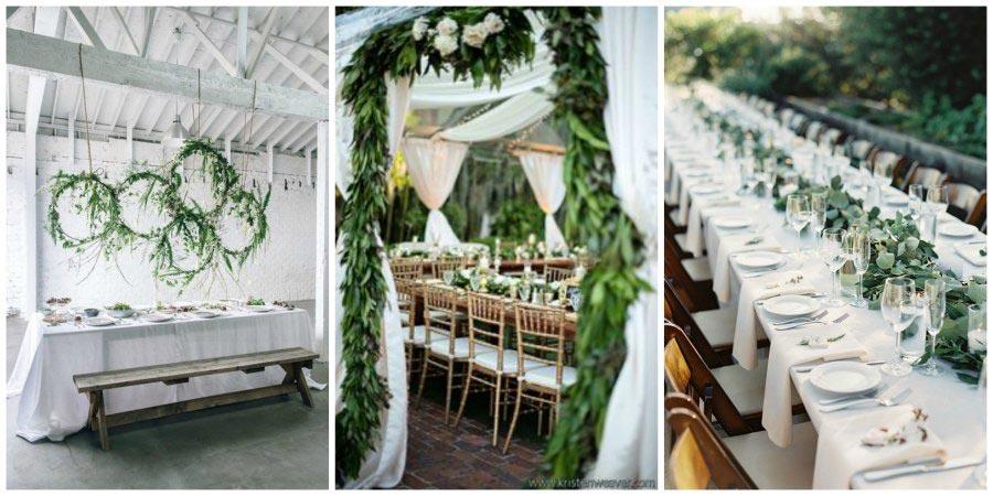 зелень на свадьбе 2