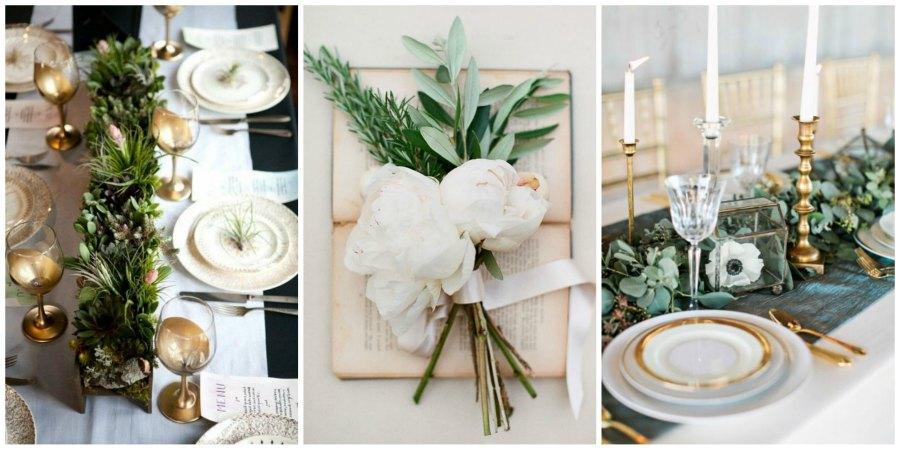 зелень на свадьбе 5