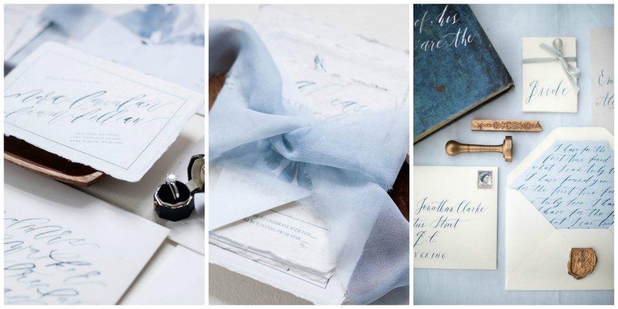 зимние приглашения на свадьбу 1