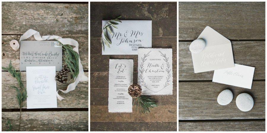 зимние приглашения на свадьбу 3