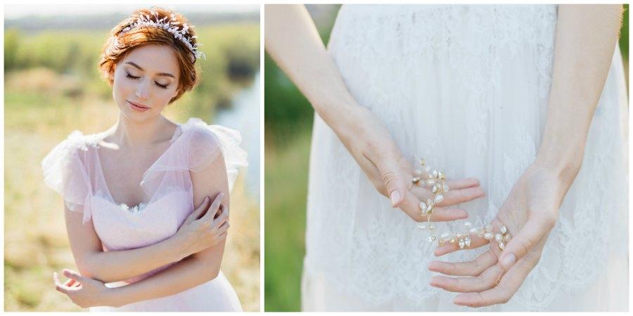 украшение прически невесты 2
