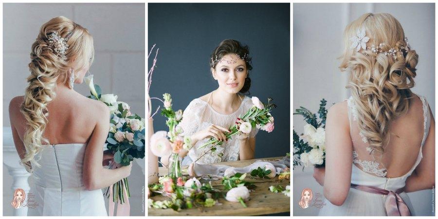 украшение прически невесты 3
