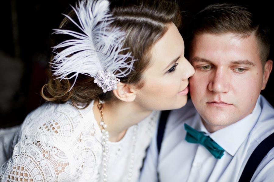 украшение прически невесты 4