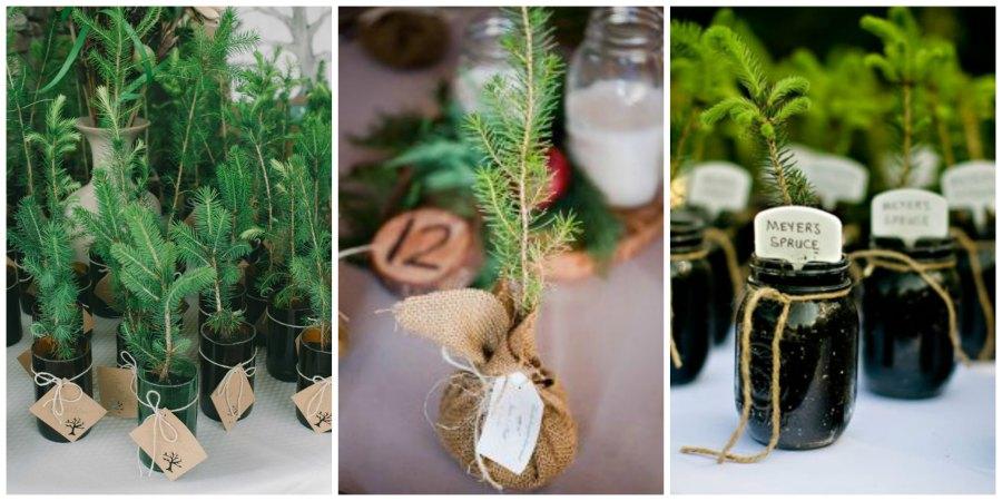 подарки гостям на зимней свадьбе 1
