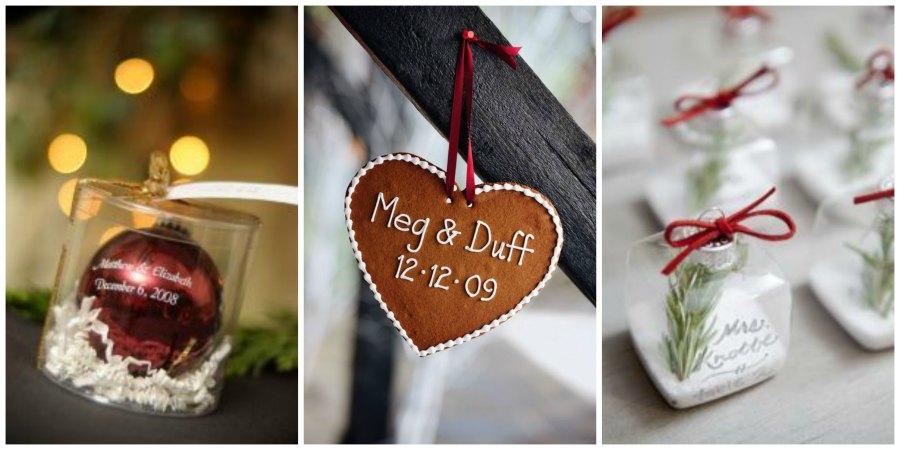 подарки гостям на зимней свадьбе 2