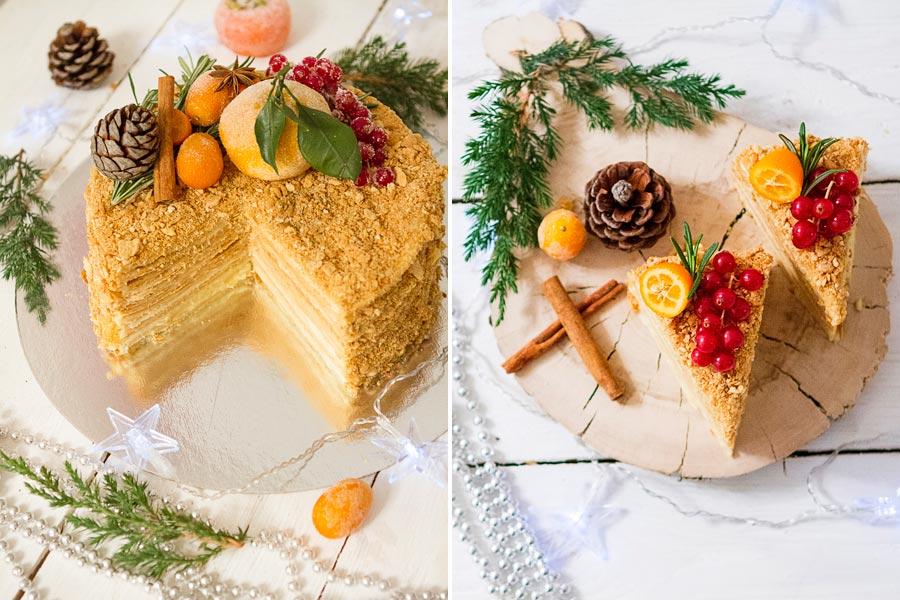 начинки зимнего свадебного торта 1