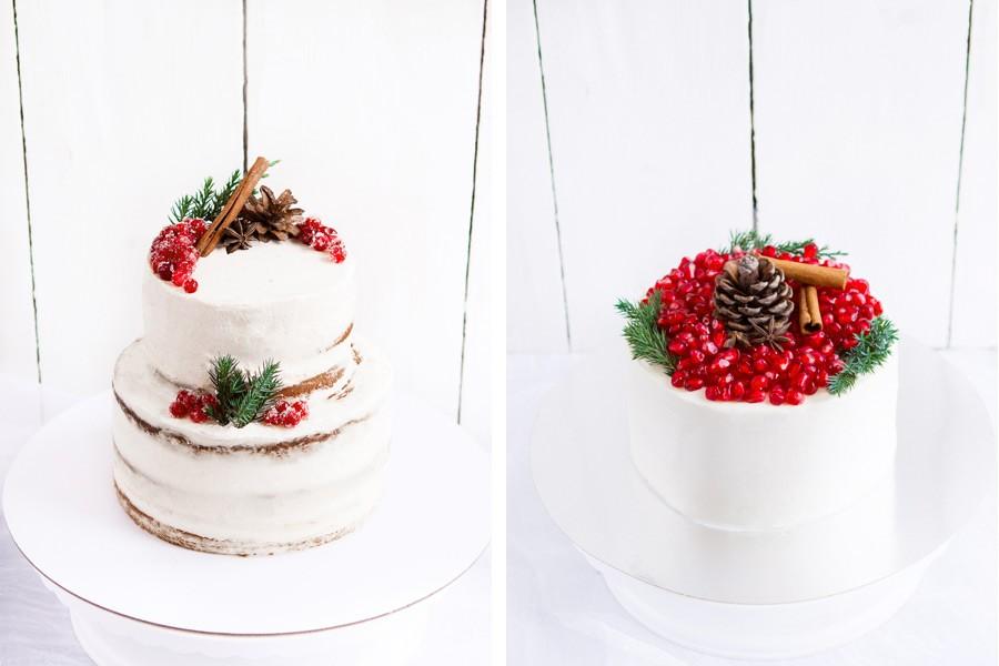 начинки зимнего свадебного торта 2