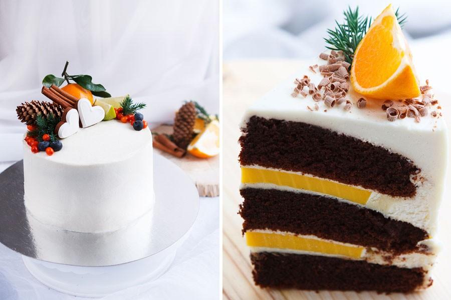 начинки зимнего свадебного торта 3
