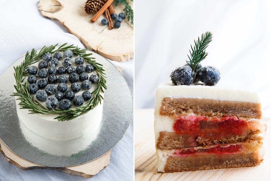начинки зимнего свадебного торта 5